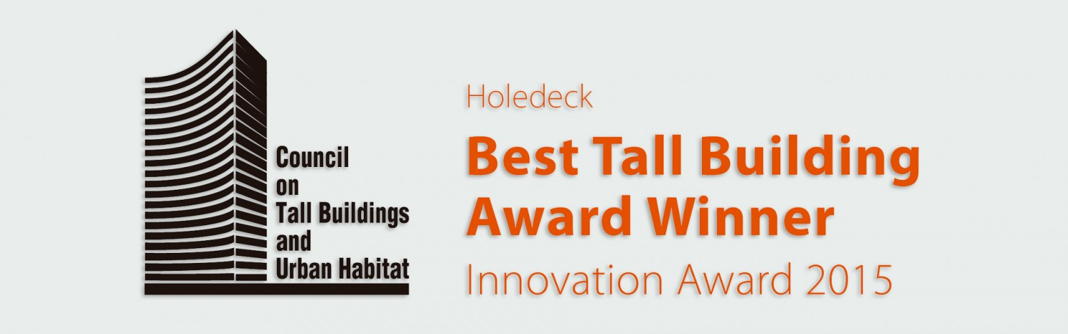 CTBUH innovation award holedeck slabs